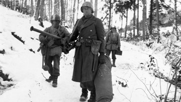 What the weather was like during the Battle of the Bulge