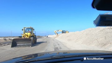 Highway reopens on Outer Banks after weekend nor'easter