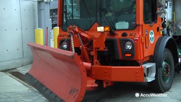 Snow & Tell: NYC snow fighters display winter weather tools