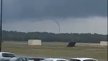 Rope tornado spins up in Florida