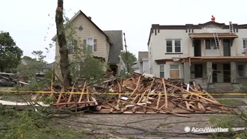 Picking up the pieces after another devastating storm