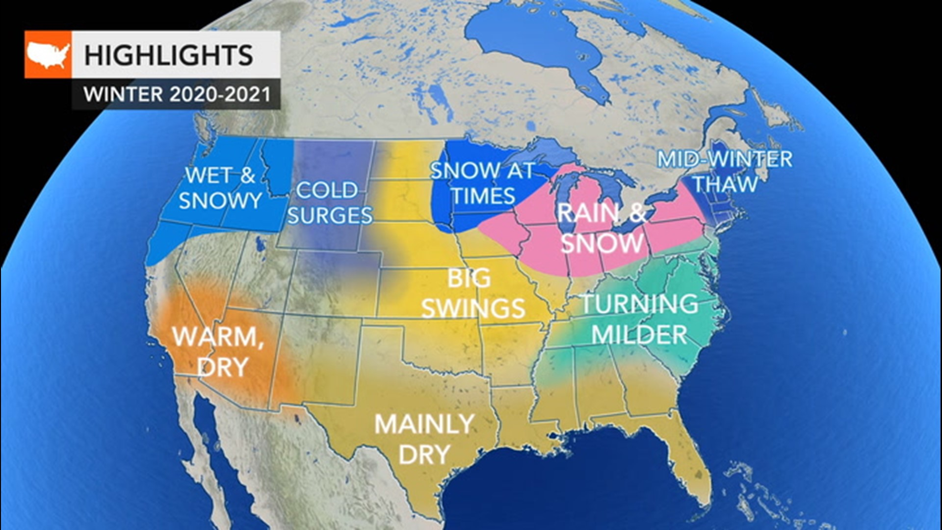 Christmas Forecast 2020 For New Orleans Winter is coming; here's the winter weather forecast for around