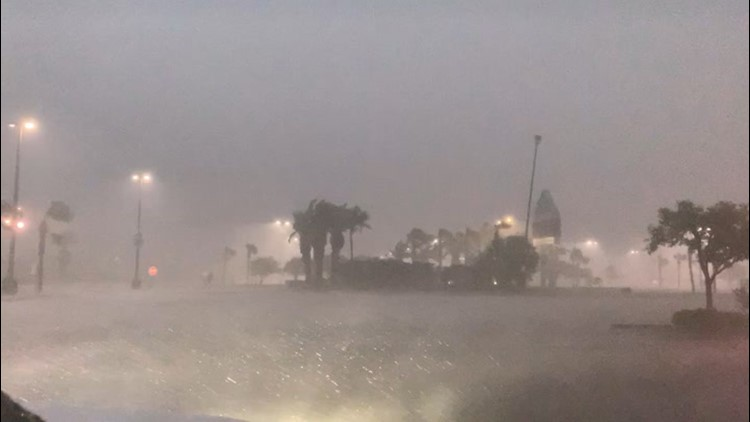 Storms bring lightning, thunder and rain to New Orleans area