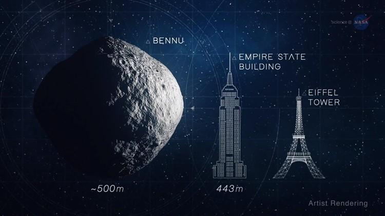 Image result for Asteroid Bennu