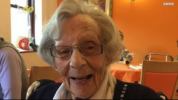This 104-Year-Old Woman Has a Wish...To Be Arrested
