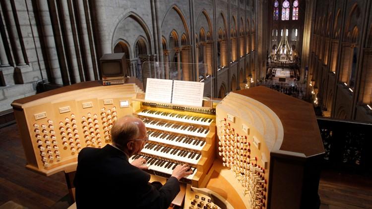 France Notre Dames Organ