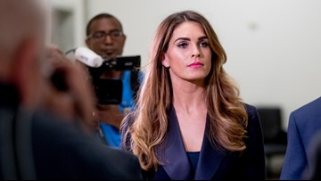 Hope Hicks rebuffs questions on Trump White House in interview