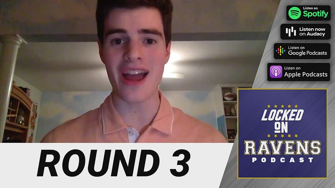 Reaction: Baltimore Ravens third round picks of the NFL Draft