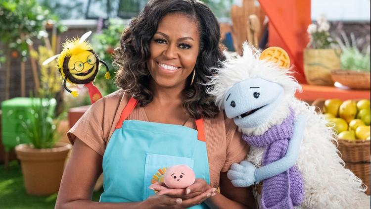 Michelle Obama announces new Netflix children's food show