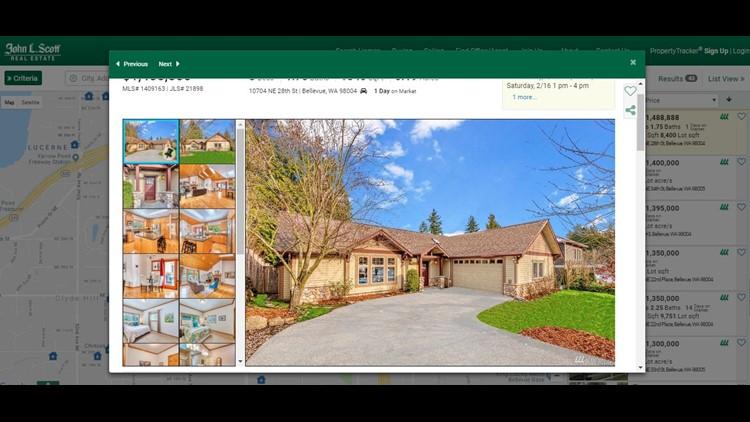 Jeff Bezos Amazon founding home for sale