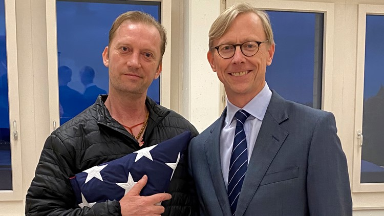 Detained US Navy veteran Michael White freed by Iran as part of deal