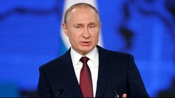 Vladimir Putin signs 'fake news' prevention bill
