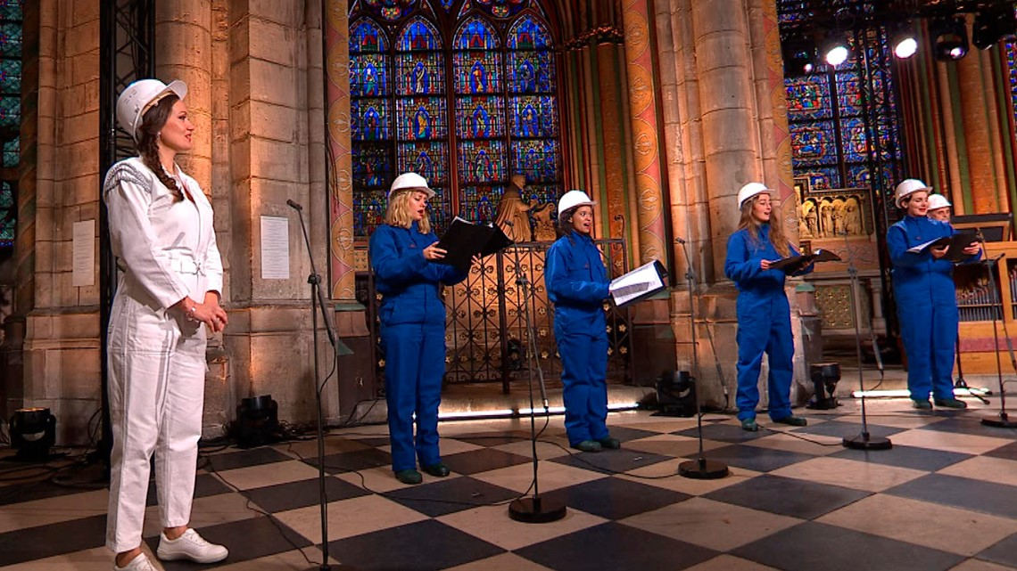 Notre Dame Cathedral Hosts First Concert Since Devastating 2019 Fire