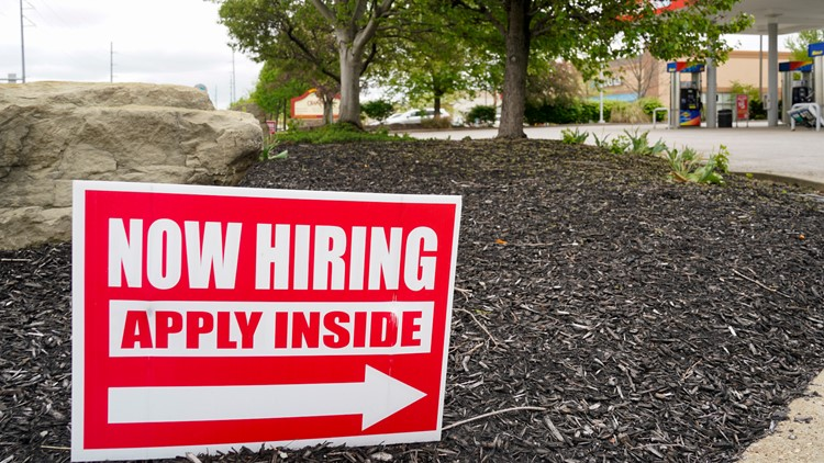US jobless claims reach a pandemic low as hiring strengthens