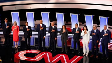 Only 9 Democrats have qualified for next presidential debate