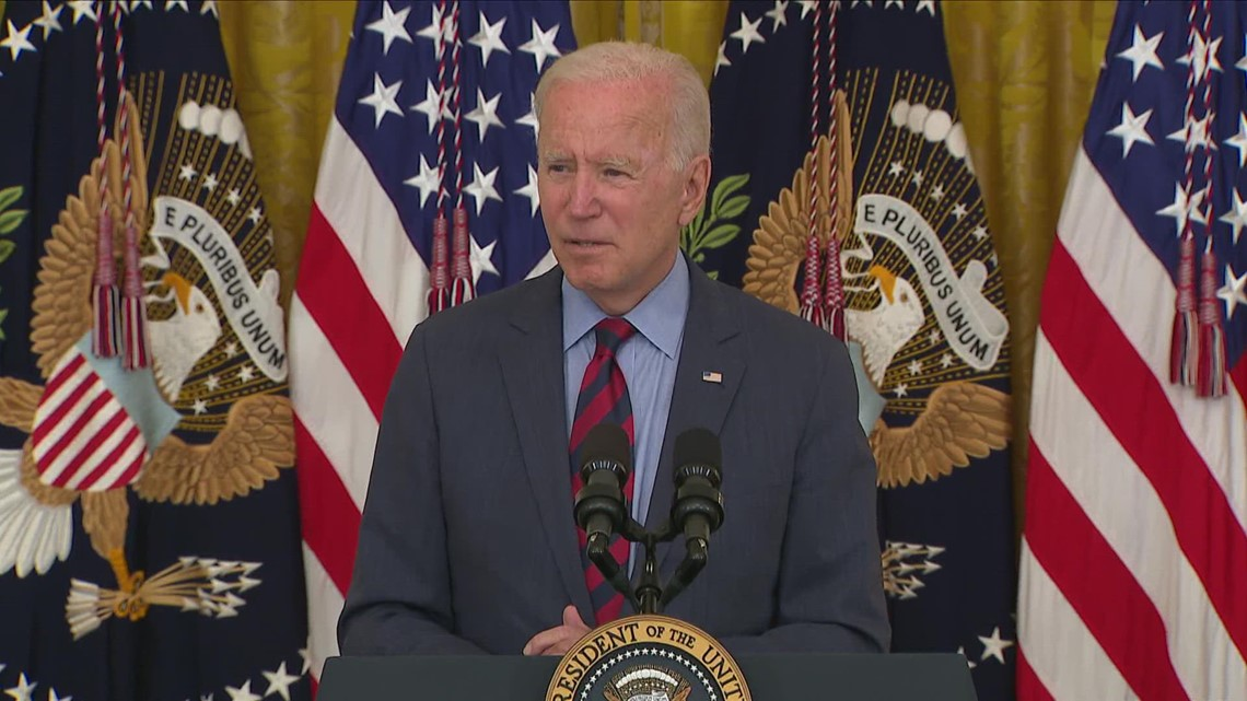 'I think he should resign': Biden responds to Andrew Cuomo probe
