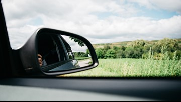 You might be positioning your car's side mirrors incorrectly