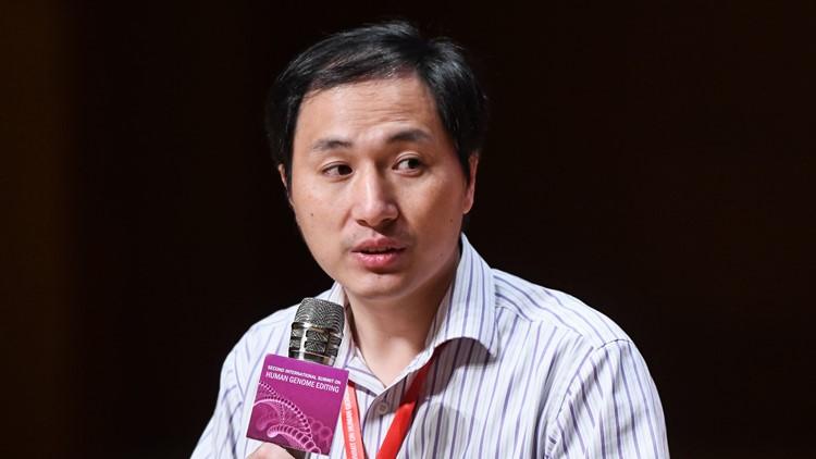 He Jiankui gene editing