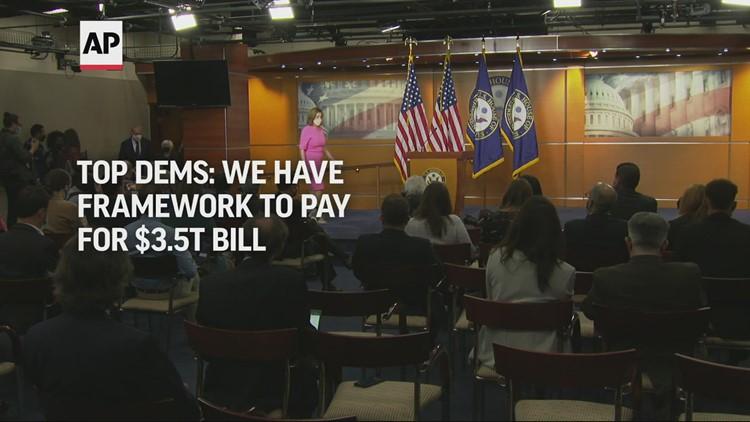 Democrats have a framework for $3.5T bill