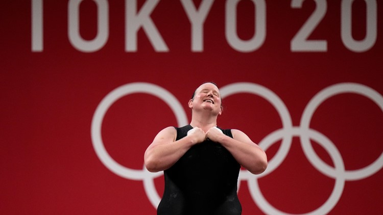 Hubbard shy about making history as a transgender Olympian