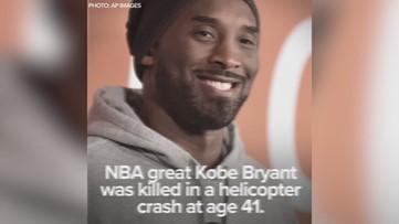NBA great Kobe Bryant dead at 41