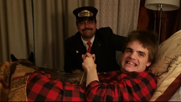 After meltdown ends Polar Express ride for teen with autism, conductor hand-delivers Christmas spirit