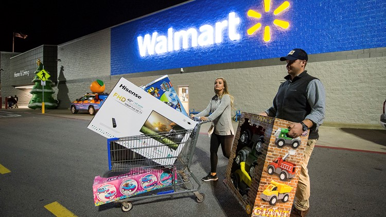 Walmart Black Friday In-Store Event