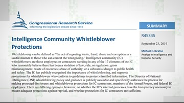 VERIFY: How whistleblowing works and why this one is different