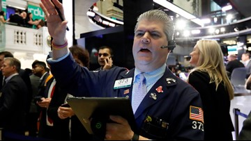 Stocks gain with a boost from Walmart, a day after 800 point drop