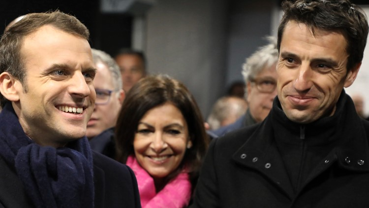 Paris Olympics moves up with two presidents on center stage