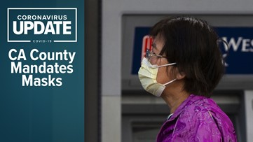 Coronavirus live updates: Washington state gives back ventilators; California county requires masks