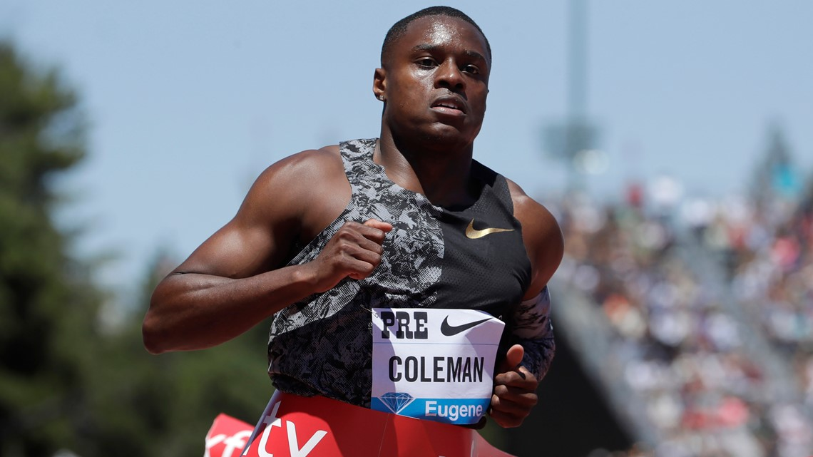 US sprint star Christian Coleman could face ban over missed drug tests