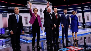 Democratic debate underway: Bloomberg expecting fierce attacks as he faces first major test