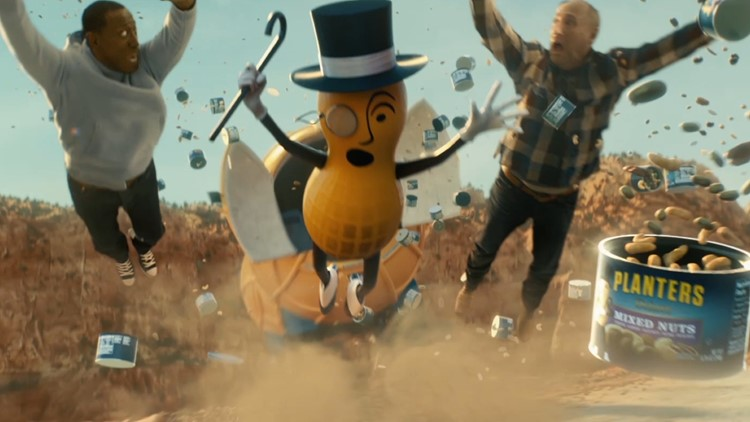 Umm, Planters just killed Mr. Peanut in a Super Bowl pregame ad