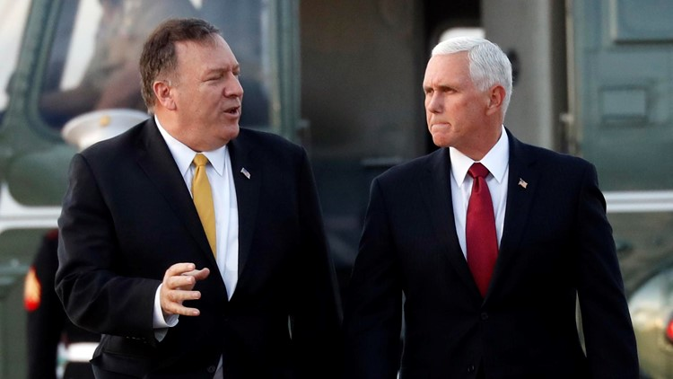 Pence, Pompeo to seek cease-fire between Turkey, Kurds