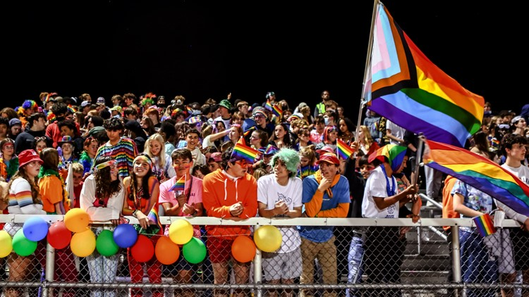 High school's halftime show turns into a 'drag ball' pageant