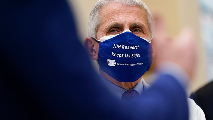 Dr. Fauci: Americans could possibly need to wear masks into 2022