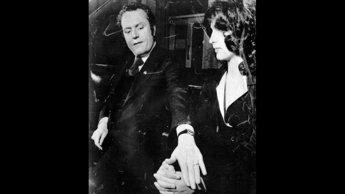 JANUARY 27, 1977: Magazine publisher Larry Flynt, comforting his wife,  Althea, during a recent break in his Cincinnati rial, says the case against  him is a ...