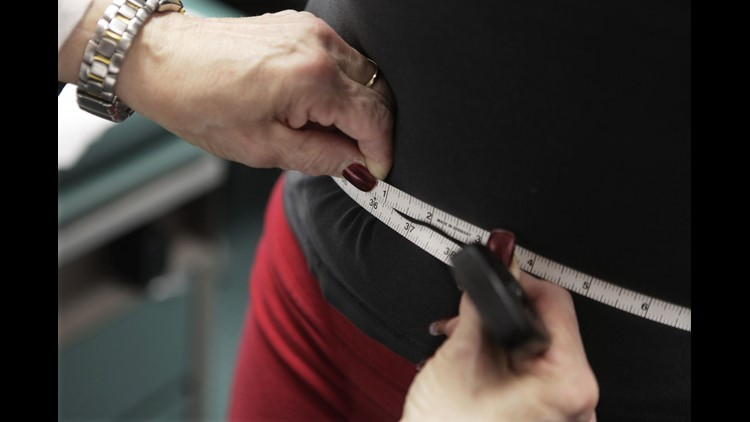 An annual report on obesity in the U.S. finds seven states have a rate above 35 percent, while no state improved its obesity rates from a year ago.