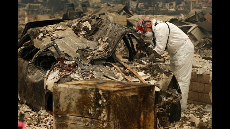 The long, hard process of identifying the dead in California's deadliest wildfire