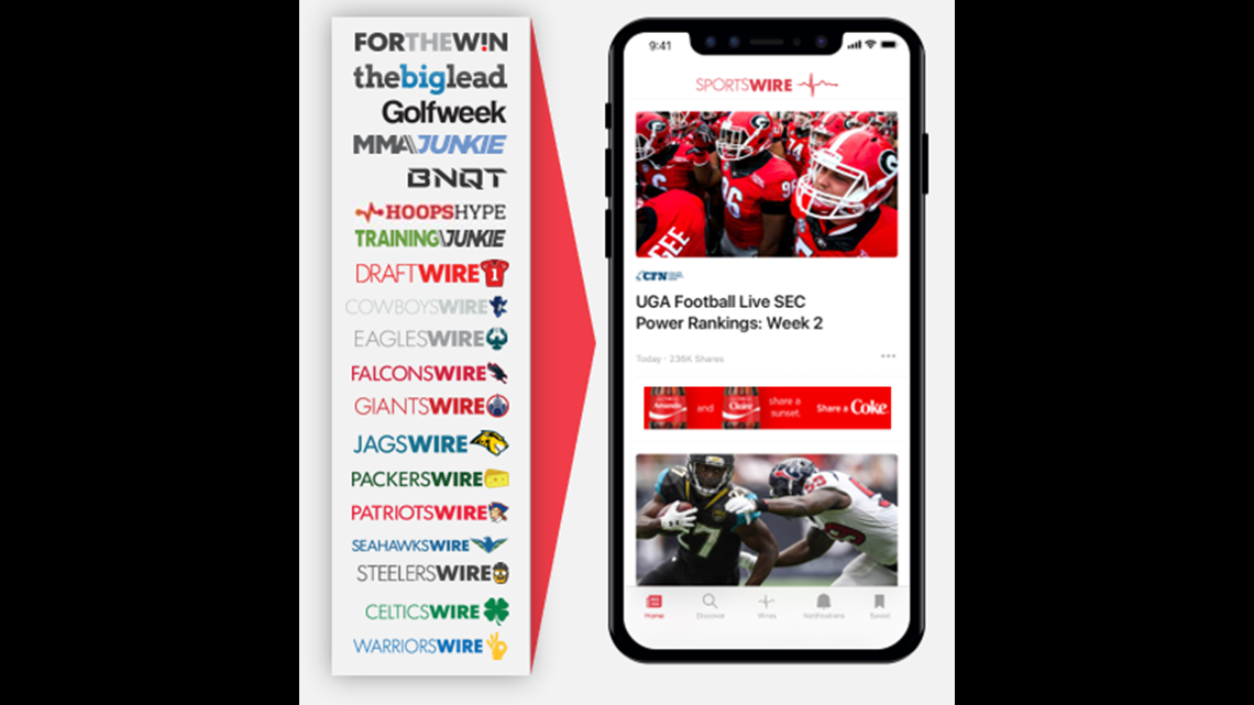 USA TODAY Sports Media Group Releases SportsWire App