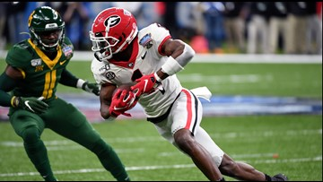 Fromm, Pickens lead Georgia past Baylor 26-14 in Sugar Bowl