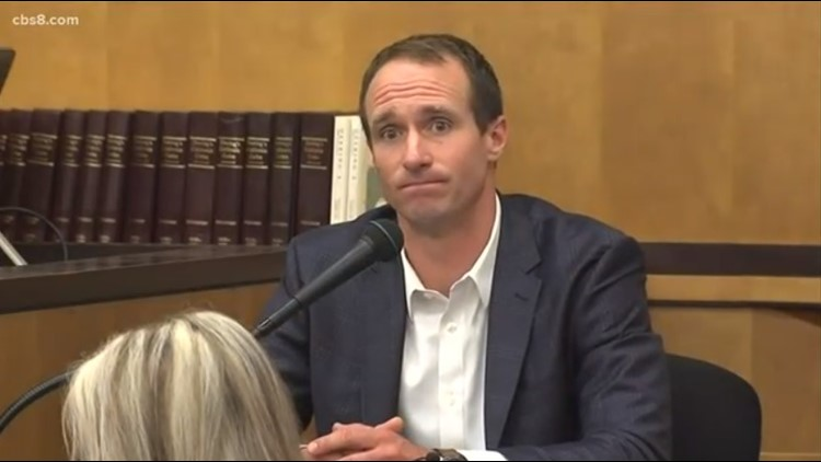 Video: Drew Brees takes the stand in jewelry fraud trial