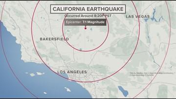 Powerful 7.1 magnitude earthquake shakes southern California