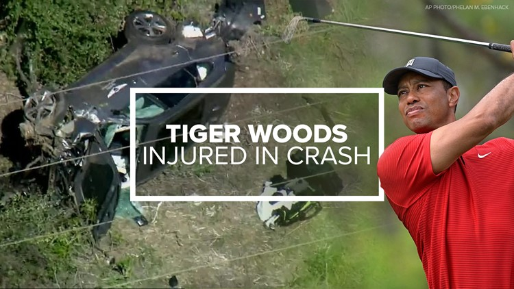 Tiger Woods was driving to meet Drew Brees when crash occurred, ESPN reports