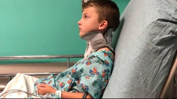 Bullies beat 3rd grader unconscious at Tomball school, family says