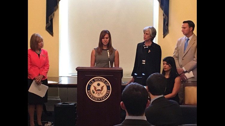 Holly Jacobs, a victim of revenge porn and founder of Cyper Civil Rights Initiative, supports federal legislation against nonconsensual pornography. The legislation was filed by Congresswoman Jackie Speier (D-CA).