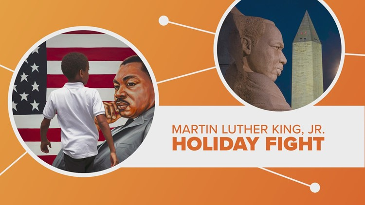 MLK Day has a turbulent history from political battles to boycotts
