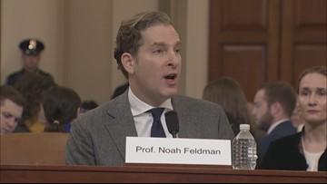 Law Professor Noah Feldman testifies Trump's actions 'constitute impeachable high crimes'