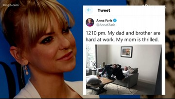 Edmonds native Anna Faris, family 'lucky to be alive' after carbon monoxide exposure
